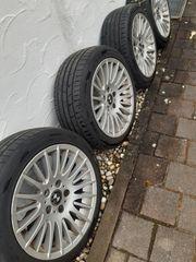 4x Sommer Reifen auf Felgen