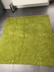 Grüner Teppich 150x150cm