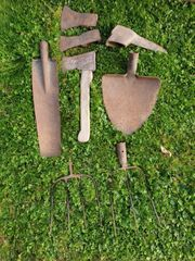 Diverses altes Werkzeug