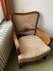 2 Chippendale Lounge Sessel mit