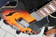 Jazz - Gitarre Ibanez AF75 sunburst