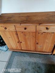 sideboard massiv Holz zu verkaufen
