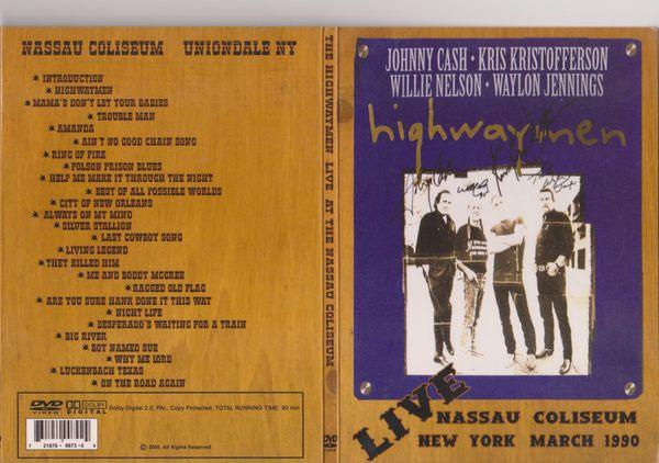 Musik-DVD - Highwaymen Cash Kristofferson Nelson