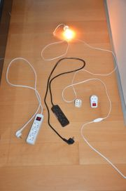 Steckdosen Elektrokonvolut 5 Teile sehr