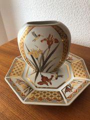 Schale und Vase japanischer Künstler