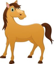 Geländesicheres Pferd