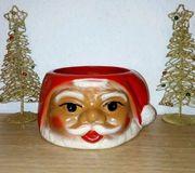 Weihnachtsmannschale DDR-1982 Weihnachtdeko Vintage Ostalgie
