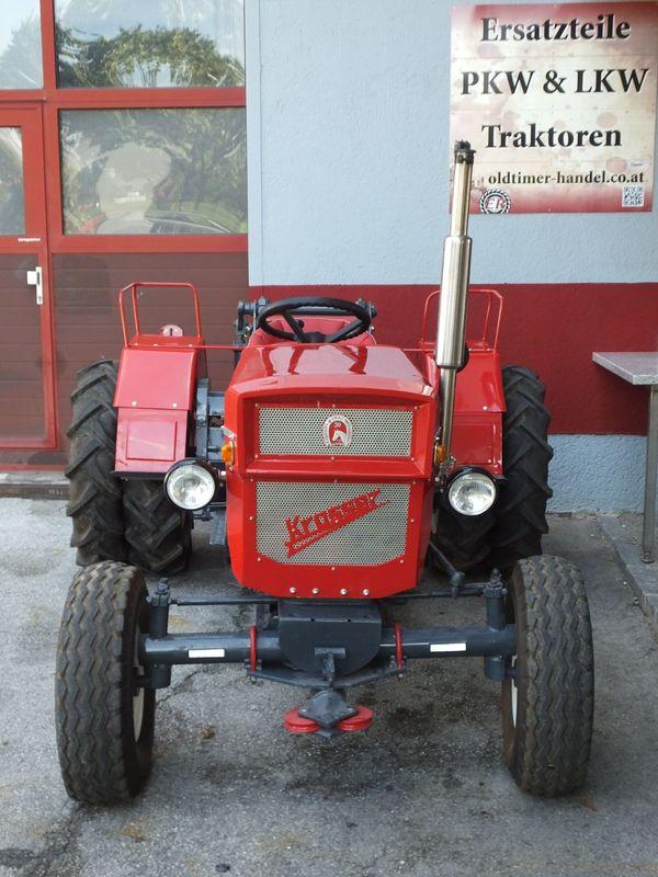 Krasser U6V Seilwindentraktor