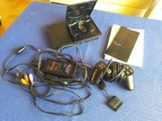 Playstation 2 slim schwarz