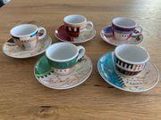 Espresso Tassen Set Kaffeeländer