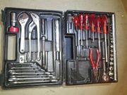 Schleifbock Flex Bohrmaschine Werkzeugkasten