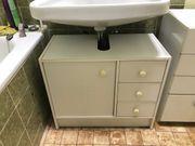 Weißer Unterschrank Waschbecken