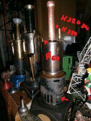 BING sehr frühe stehende Dampfmaschine