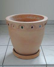Terracotta Topf Blumentopf Pflanzkübel Terrakotta