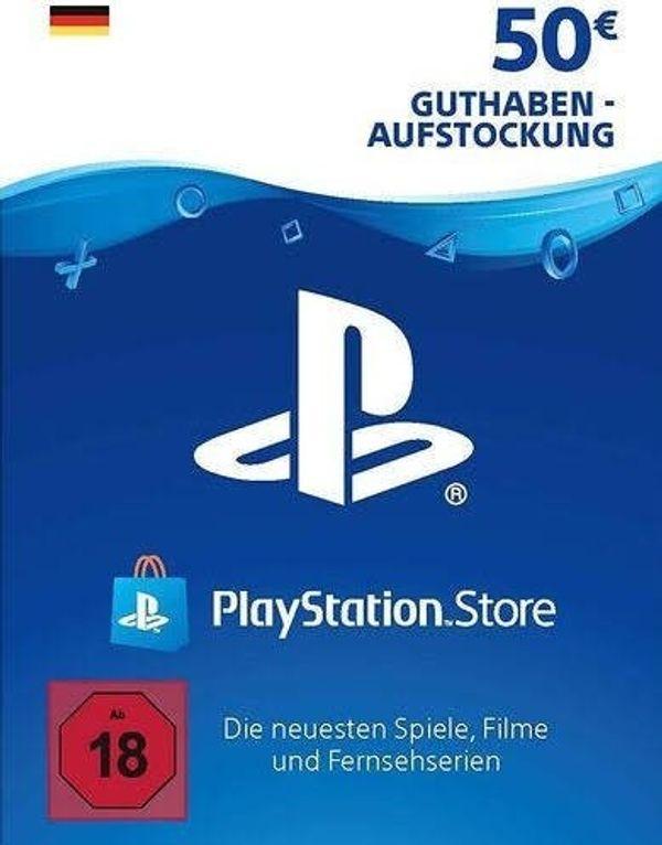 50 PlayStation Network Guthaben