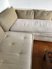 Ligne Roset Sofa cremeweiß gebraucht