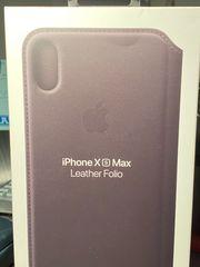 iPhone XS Max Original Lederhülle