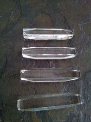 Vintage - 1930er - Messerbänkchen aus Kristall -