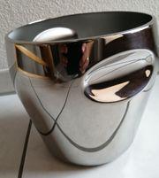 NEU Alessi Flaschen-Eimer Sektkühler Eiskübel