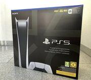 PS5 Playstation 5 Digital OVP
