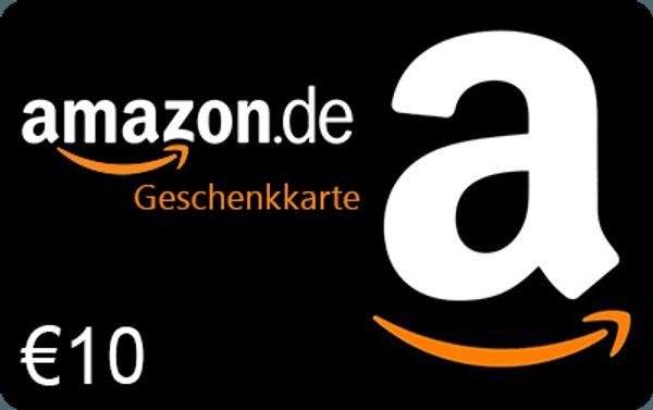 10 EUR Amazon Gutschein