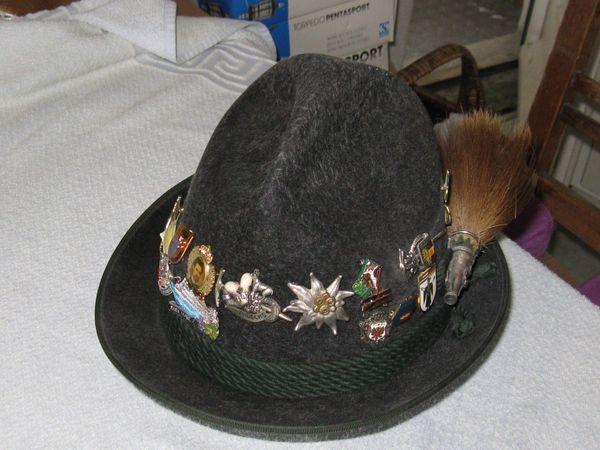 Herrenhut Trachtenhut mit Gamsbart Gr