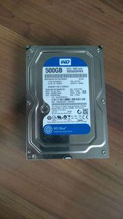 Verkaufe Western Digital 500 GB