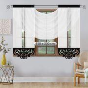 Gardinen Set 150 cm hoch