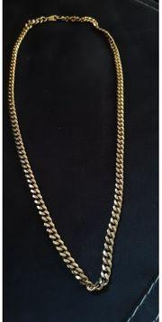KETTE mit Gold überzogen L