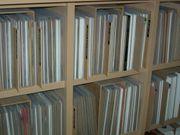 Grammophon Nadeln und Schellackplatten zu