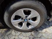 Winterreifen auf Alu-Felgen BMW F30