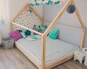 Hausbett NEU handgefertigt für Kinder