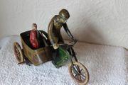 FISCHER Motorrad mit Seitenwagen ca