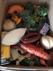 Einkaufsladen Plastik Lebensmittel - echte grösse -