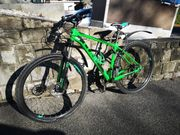 verkaufe cube attention comp mountainbike