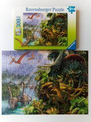 Ravensburger Puzzle Urzeitgiganten Dinosaurier XXL