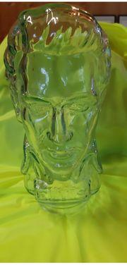 Elvis Presley Glaskopf