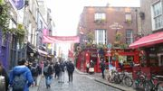 Irland Temple Bar Dublin Feb