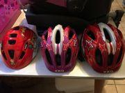3 Fahrradhelme KED