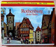 Leporello Rothenburg o d Tauber