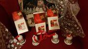 Hutschenreuther Porzellan-Glocken zu Weihnachten