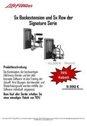Life Fitness Signature Serie Row