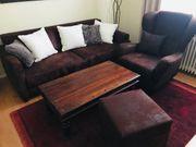 Sofa Couchgarnitur mit Sessel und