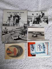 Rennsport Motorsport Autogrammkarten Hans Stuck