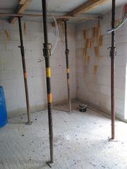 VERLEIHE Baustützen Spriese Deckenstützen Stahlrohrstütz