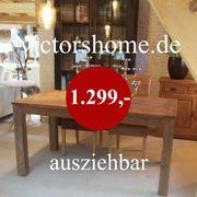 Ausziehbarer Esstisch 180 280 Hartholztisch