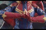 Captain Marvel Cosplay Kostüm