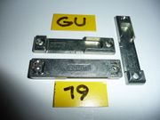 GU-Schließplatten 8-873 Eurofalz 80x18x8mm silberf