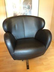 Leder Sessel fürs Haus oder