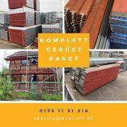 Holzboden Gerüst 683 qm 65x10